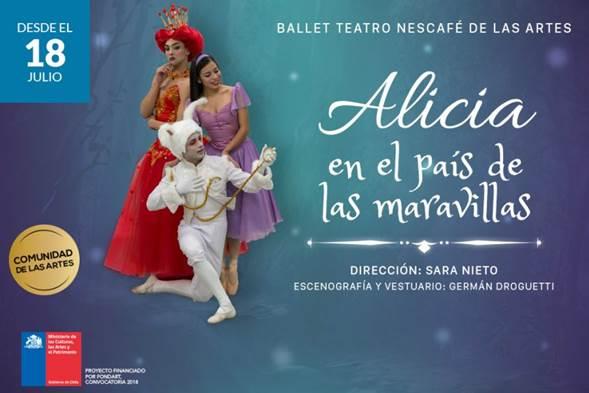 Ballet Alicia En El País De Las Maravillas Regresa Para Vacaciones De Invierno